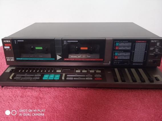 Tape Deck Aiwa Wx 220
