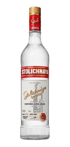 Vodka Stolichnaya De 750ml.