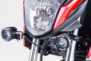 Moto Honda Cb160f Kit De Exploradoras Led + Base Fire Parts