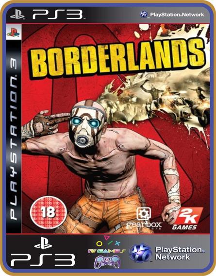 Jogo Borderlands Ps3 Midia Digital Psn Original Envio Rápido