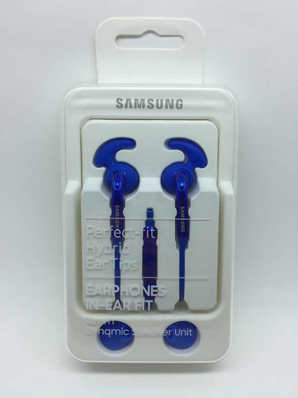 Fone De Ouvido Samsung Eg920 In-ear Fit Azul Artic.