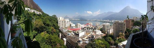 Apartamento À Venda, 280 M² Por R$ 4.500.000,00 - Lagoa - Rio De Janeiro/rj - Ap3451