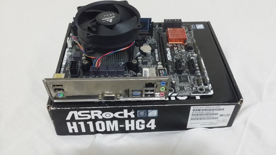 Kit Intel Pentium Dual Core G4400 Mb H110m Hg4 Ddr4 Ram 4gb