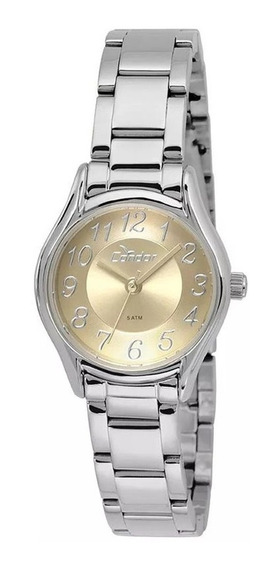Relógio Feminino Condor Prateado Pequeno Co2035krq/3y