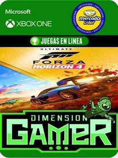 Forza Horizon 4 Ultimate - Xbox One - Modo Local + En Linea