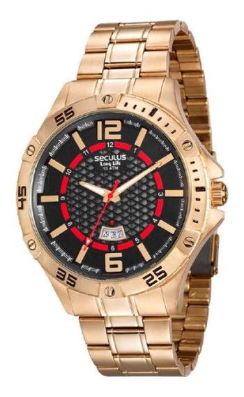 Relógio Seculus Masculino 20457gpsvda2