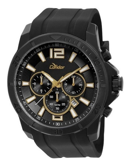 Relógio Condor Masculino Pulseira De Silicone Covd33ad/3p