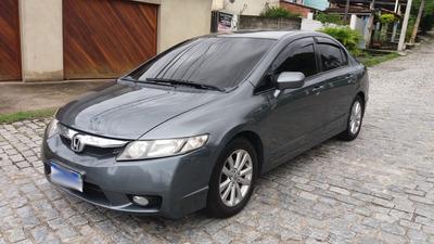 Civic 2010 Lxs 1.8 Flex/gnv - Completo
