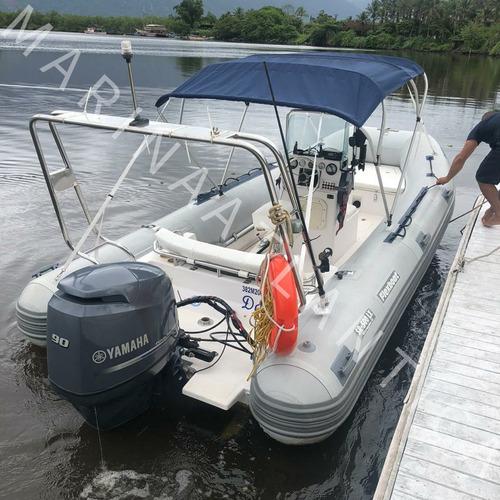 Bote Flexboat Sr500lx,casco 2006 01xyamaha 90hp Marina Atlan