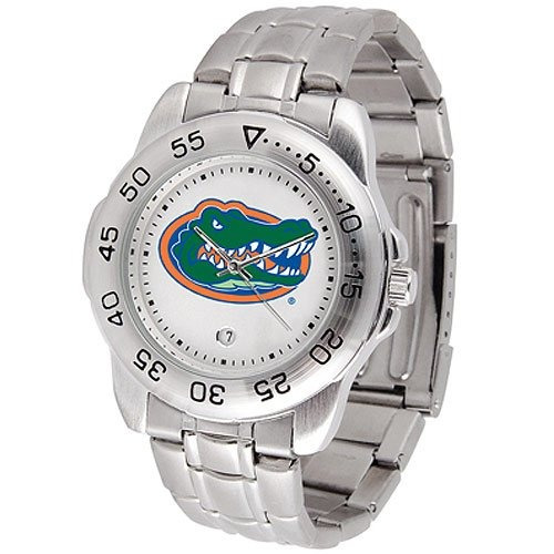 Reloj Florida Gators Ncaa Sport Mens Watch (leather Band)