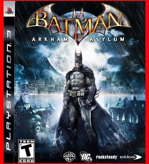 Batman Arkham Asylum Ps3 Play 3 Playstation 3 Barato