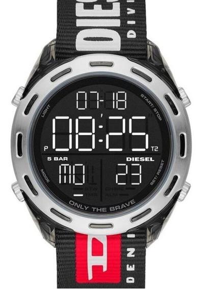 Relógio Diesel Masculino Digital Original Dz1914