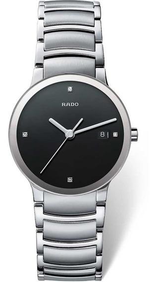 Reloj Rado Centrix Jubilé R30927713 Diamonds Plateado-negro