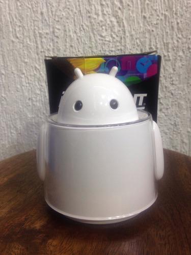 Caixa De Som Portátil Mini Robô