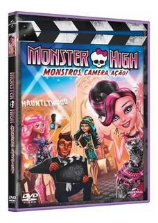 Monster High - Monstros, Câmera, Ação! - Dvd + Porta-retr