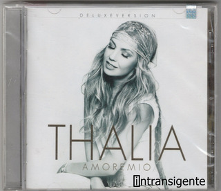 Thalia - Amore Mio (cd Deluxe Nuevo Sellado)