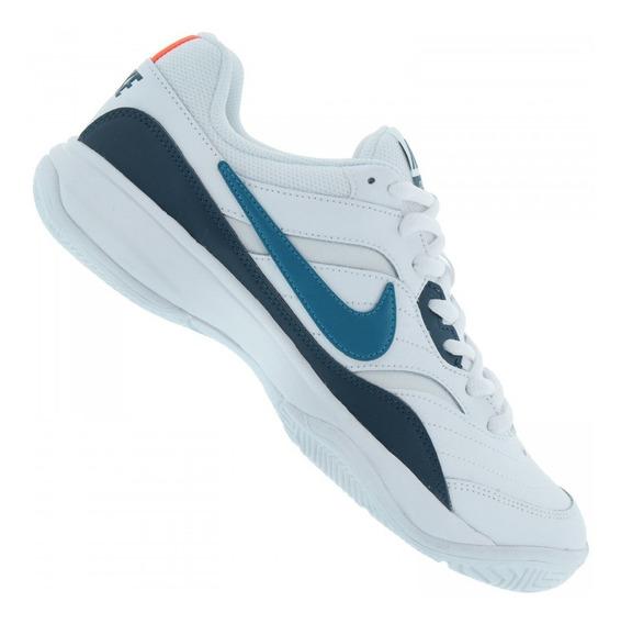 Tênis Masculino Nike Court Lite Em Couro Original