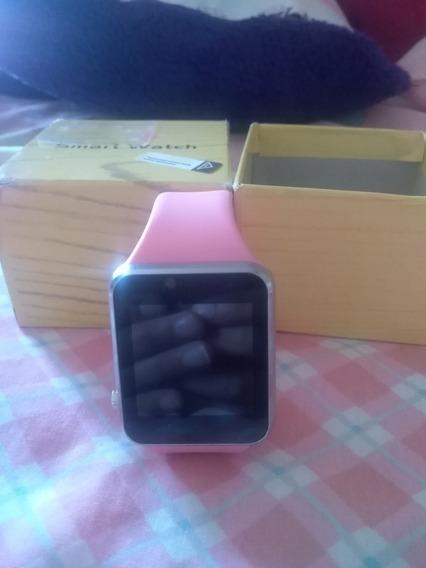 Reloj Smartwatch Rosa. Nuevo