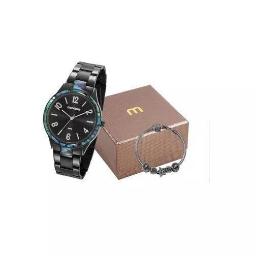 Kit Relógio Mondaine Feminino 53624lpmvpe2k1