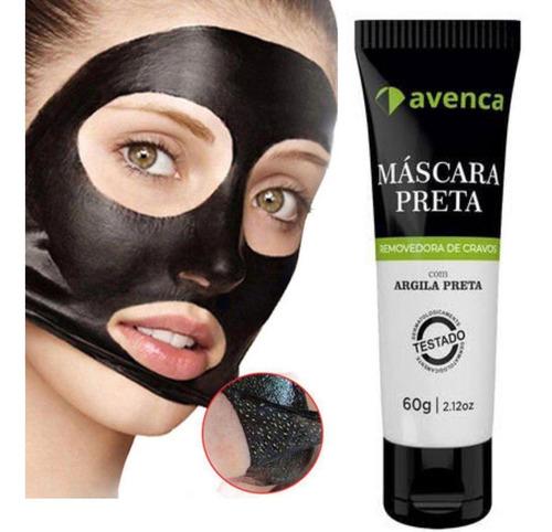 Imagem 1 de 4 de Avenca Máscara Preta Removedora De Cravos 60g + Brinde