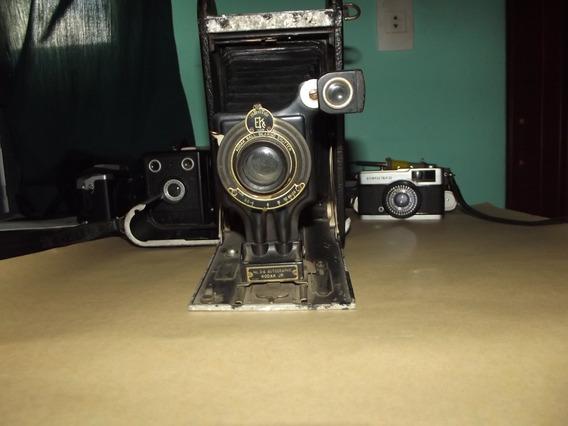 Antiga Câmera Kodak 3a Autographic Jr Rara 0409 E