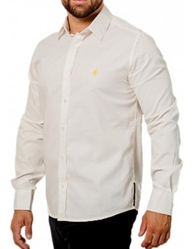 Camisa Exclusiva Estampada: Pontos Amarelos - Puntini Gialli