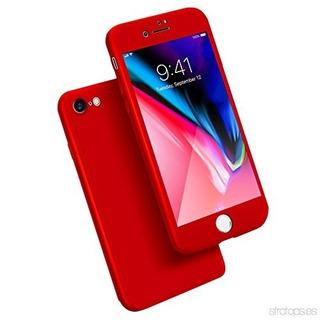 Funda 360 iPhone 5, 6, 6 Plus, 7, 7 Plus + Cristal Templado