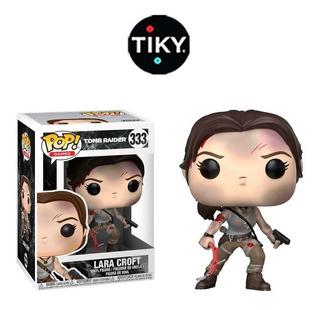 Funko Pop Tomb Raider Lara Croft New Version Caja Detalle