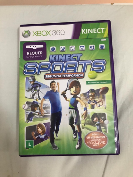 Jogo Kinect Sports - 2ª Temporada Para Xbox360