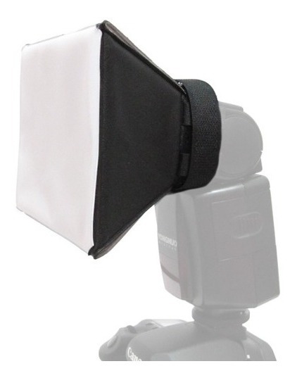 Difusor Flash Mini Softbox Universal Canon Nikon Sony Etc