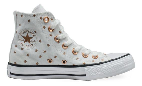Tênis Converse All Star Hi Estrela Branco Original