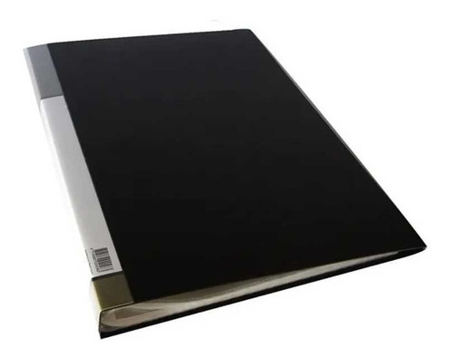 Imagen 1 de 4 de Carpeta The Pel A3 Con 20 Folios Transparentes. Color Negro