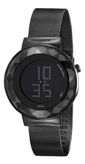 Relógio Feminino Mondaine Digital Preto 32006lpmvpe3 C/ Nfe