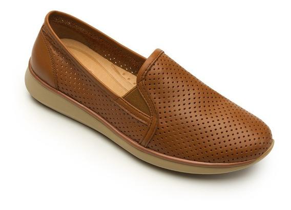 Zapato De Piso Dama Flexi 28202 Camel 22-27 Casual 758-378 T4