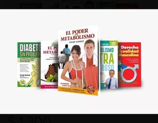 Paquete De Libros El Poder Del Metabolismo Frank Suarez