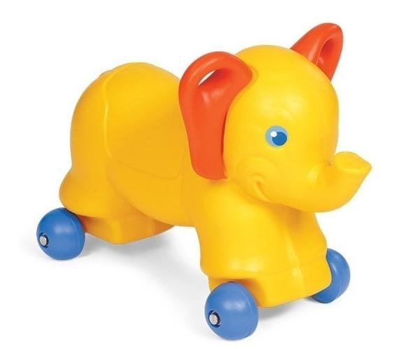 Andador Elefante Trompita Pata Pata Vegui Arrastre En Cadia