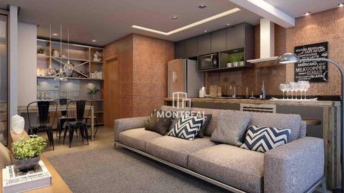 Apartamento À Venda, 46 M² Por R$ 385.000,00 - Alphaville Conde I - Barueri/sp - Ap2021