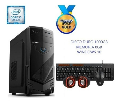 Computadora Cpu Intel Core I5 9na Gen 1tb 8gb Incluye Iva