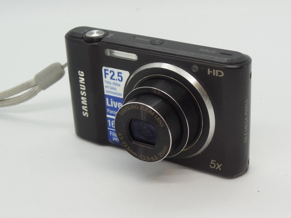 Camera Digital Samsung 16mp Ótimo Estado Barata +brindes
