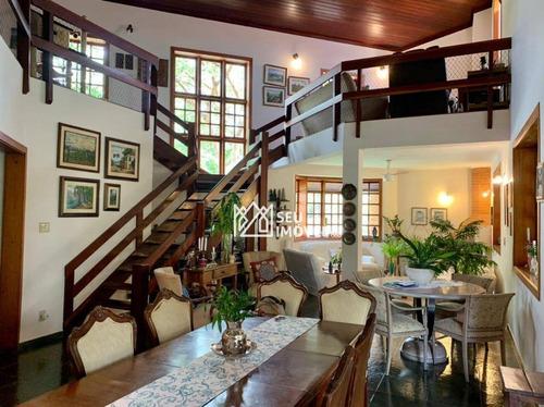 Casa À Venda, 395 M² Por R$ 1.400.000,00 - Condomínio Campos De Santo Antônio - Itu/sp - Ca2140