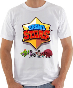 Camiseta Infantil Masculina Feminina Braw Star Bonecos 1039