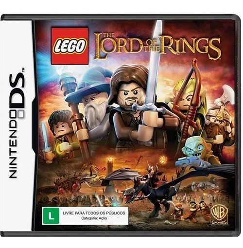 Jogo Lego Lord Of The Rings - Nintendo 3ds - Semi-novo