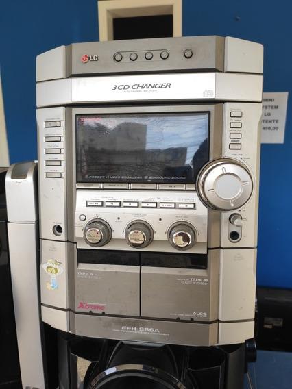 Minisystem LG Som Raiz Ffh986 Ffh-986 100% Funcionamento