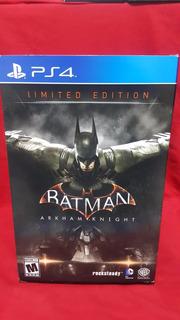 Batman Arkham Knight Collectors Edition Ps4