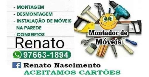 Imagem 1 de 5 de Montador De Móveis Aceito Cartões E Pix.