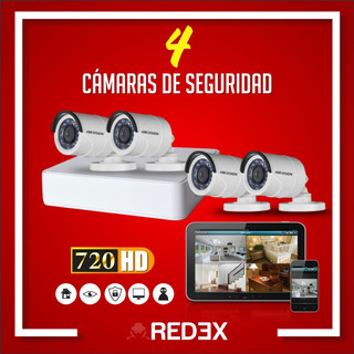 Kit De Video Vigilancia Hikvision Hd