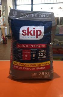 Jabon Polvo Skip Concentrado X 7.5 Kg- Sin Envio Al Interior