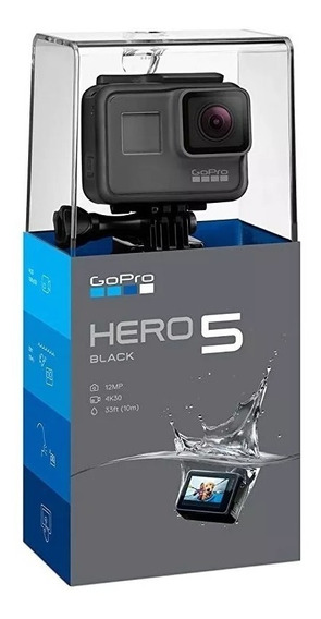 Filmadora Camera Gopro Hero 5 Black 4k 12mp Hdmi Lcd Touch