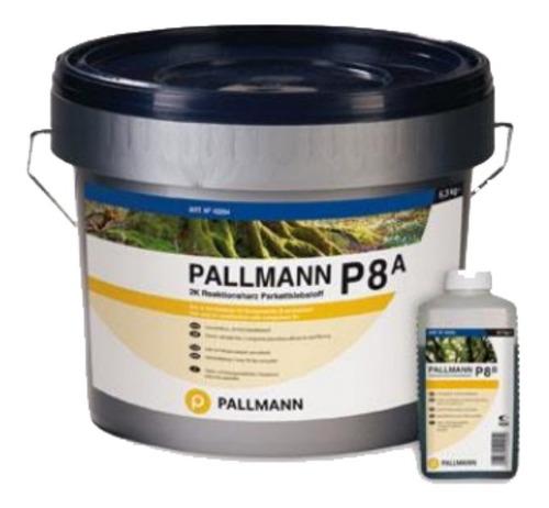 Imagen 1 de 1 de Adhesivo Poliuretano Pallmann P8 Bicomponente 11kg
