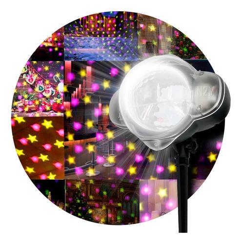 Laser Led Luz Verde Rojo 5w Exterior Control Efectos Navidad
